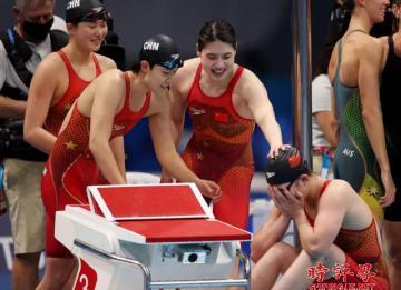 """殷建光:""""跟你拼了!""""彰显中国运动员奥运精神"""